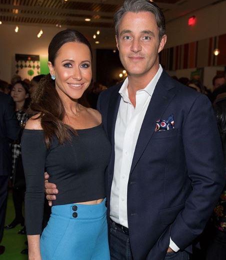 Jessica Mulroney with her Husband