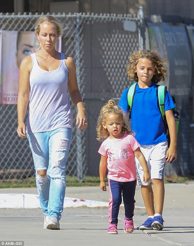 Kendra Wilkinson with Children}}