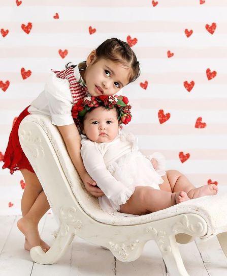 Elle McBroom with Sibling/s}}