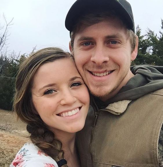 Austin Forsyth with his wife, Joy-Anna Duggar. | Source: Instagram