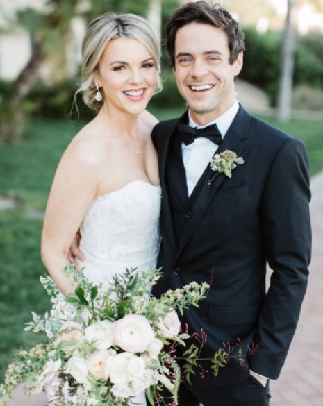 Ali Fedotowsky with her husband, Kevin Manno | Source: Instagram