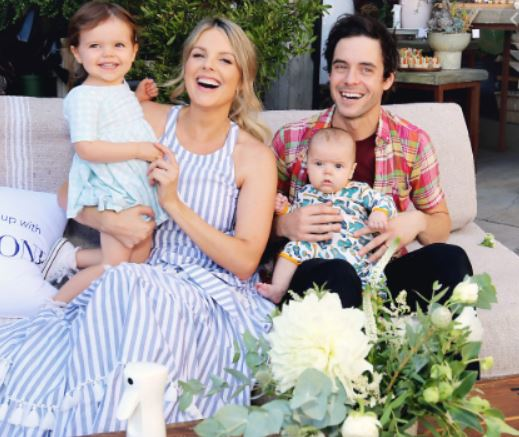 Ali Fedotowsky with Children}}
