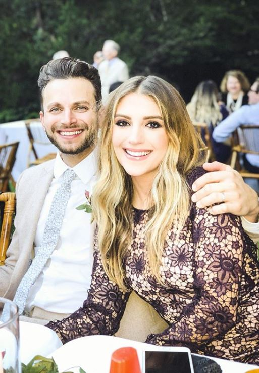Jordan Pruitt with her husband, Brian Fuente. | Source: Celebspodium.com
