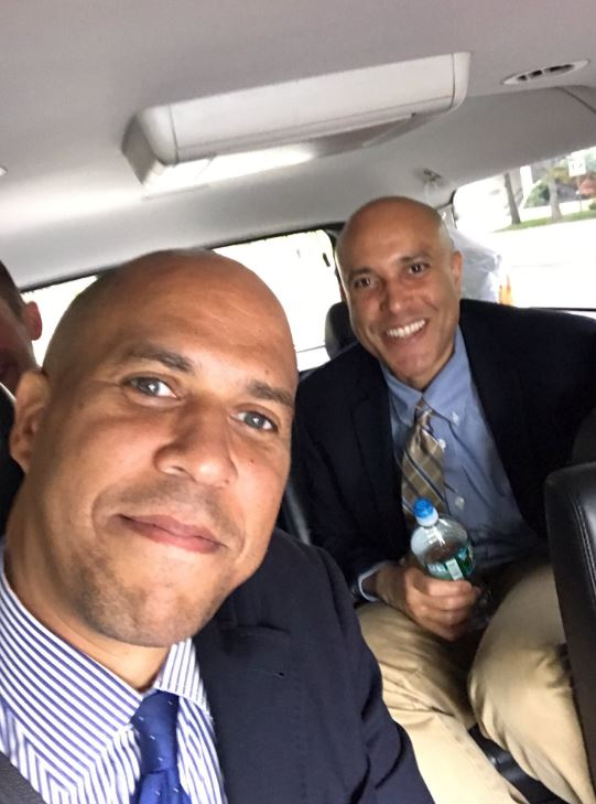 Cory Booker with Sibling/s}}