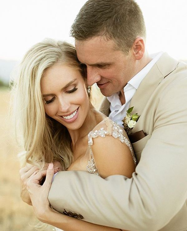 Ryan Lochte with his wife, Kayla Rae Reid. | Source: Instagram