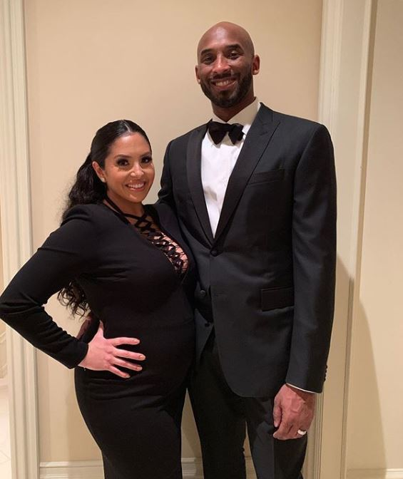 Vanessa Laine Bryant with her husband, Kobe Bryant. | Source: Instagram