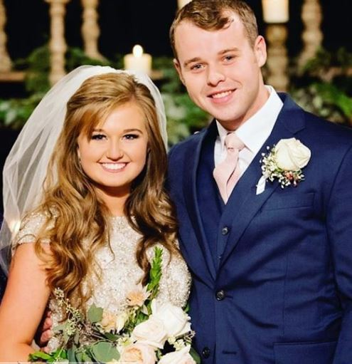 Joseph Duggar with his wife, Kendra Caldwell. | Source: Instagram