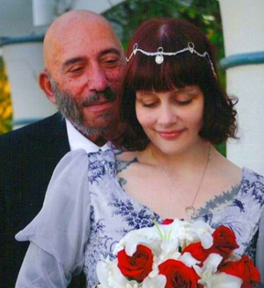 Susan L. Oberg with her late husband, Sid Haig. | Source: Instagram.com