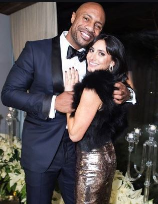 Jay Williams with his wife, Nikki Bonacorsi. | Source: gabwags.com
