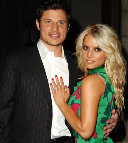 Jessica Simpson and her Ex-Husband Nick Lachey. | Source: Refinery29