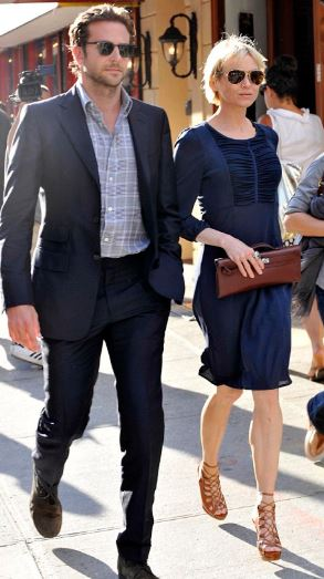 Renée Zellweger with her Ex-Boyfriend Bradely Cooper | Source: Daily Mail