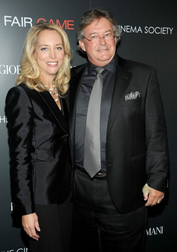 Valerie Plame with her ex-husband, Joseph C. Wilson. | Source: Huffpost.com