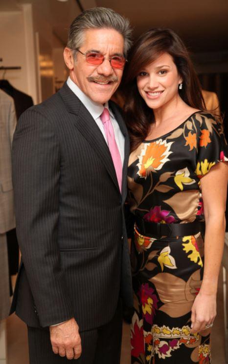 Geraldo Rivera with his wife, Erica Levy. | Source: Zimbio.com