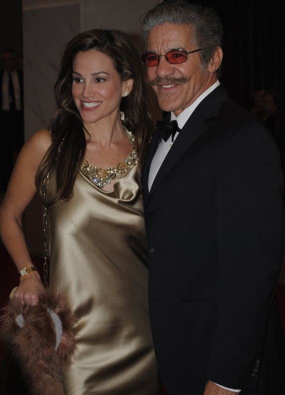 Geraldo Rivera with his ex-wife, C.C. Dyer. | Source: flickr.com