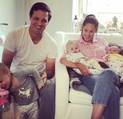 Abby Huntsman with Children}}
