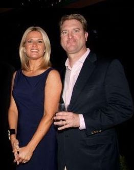 Martha MacCallum and her husband Dan Gregory | Source: CelebrityNewsy