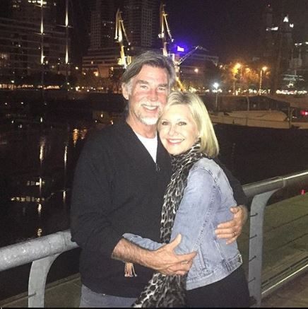 Olivia Newton-John's husband Amazon John Easterling | Source:Instagram
