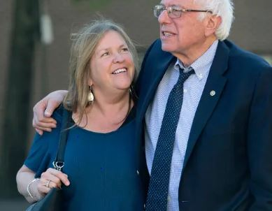 Bernie Sanders and his wife Jane O'Meara Driscoll |Source: nytimes.com