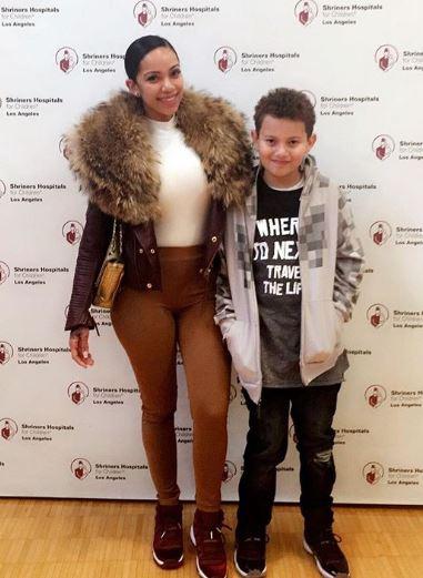 Erica Mena with Children}}