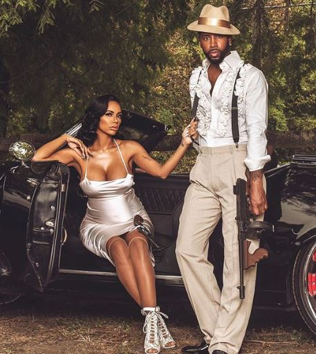 Erica Mena and her fiance, Safaree Samuels. | Source: Instagram