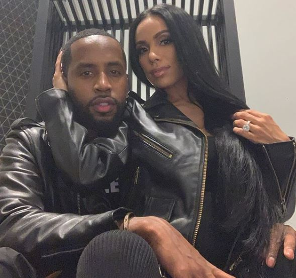 Safare Samuels and his fiancee Erica Mena | Source: Instagram