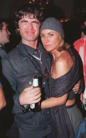 Noel Gallagher with his Ex-Wife Meg Mathews | Source: zimbio.com