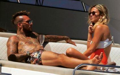 Diletta Leotta and her boyfriend Daniele Scardina | Source: today.it.