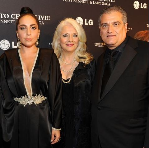 Lady Gaga with Parent/s}}