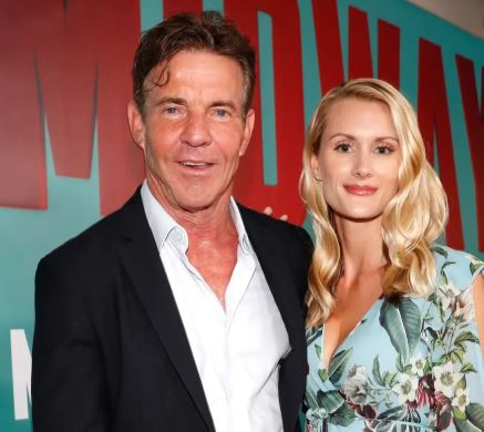 Dennis Quaid with his Fiancee Laura Savoie | Source: Insider.com