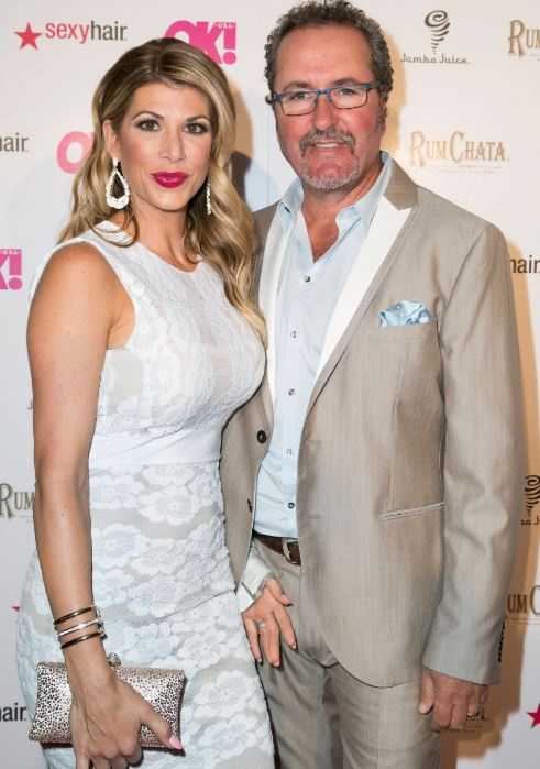 Alexis Bellino with her ex-husband, Jim Bellino. | Source: people.com