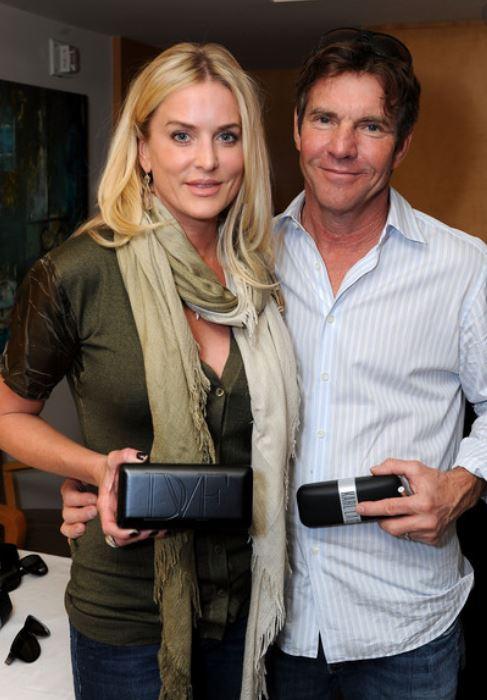 Kimberly Quaid with her ex-husband, Dennis Quaid. | Source: Zimbio.com