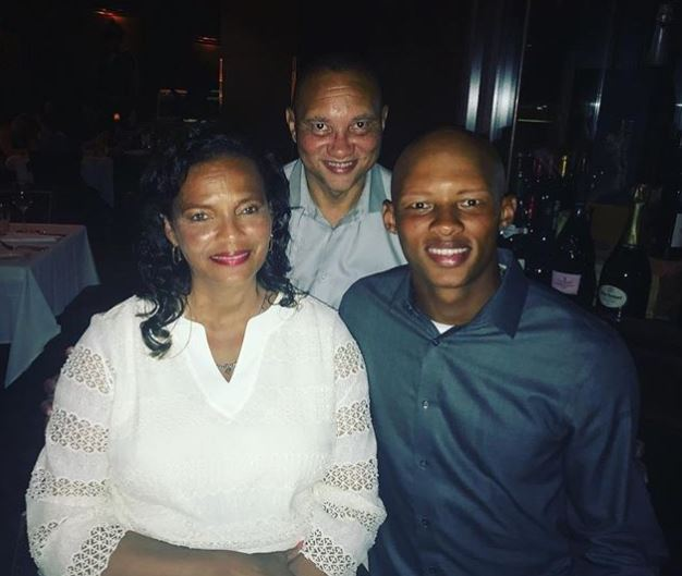 Joshua Dobbs with Parent/s}}