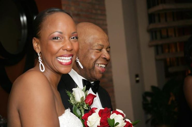 Maya Rockeymoore Cummings with her late husband, Elijah Cummings. | Source: Instagram.com