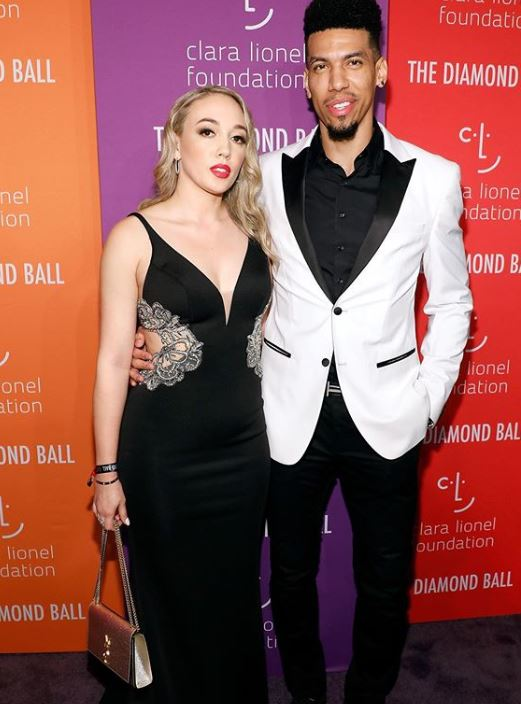 Danny Green with his longterm girlfriend, Blair Alise Bashen. | Source: CelebsPodium.com