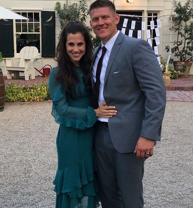 Nick Folk with his wife, Julianne Folk. | Source: Instagram.com