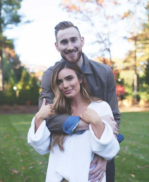Robyn Hayward with her husband, Gordon Hayward. | Source: Instagram.com