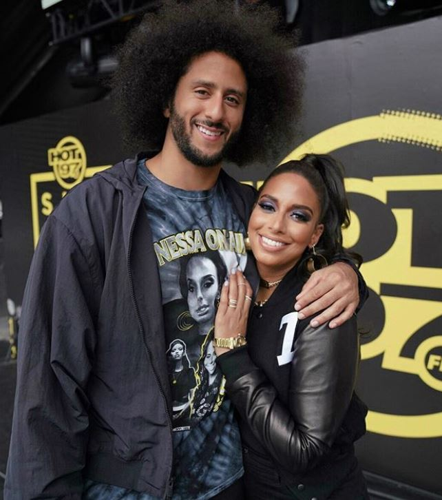 Nessa Diab with her boyfriend, Colin Kaepernick. | Source: Instagram.com