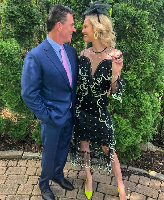 Meghan King Edmonds with her husband, Jim Edmonds. | Source: Instagram.com
