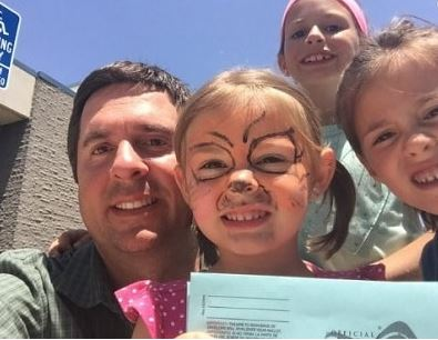 Devin Nunes with Children}}