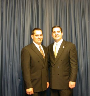 Devin Nunes with Sibling/s}}