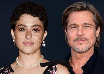 Alia Shawkat and her rumoured Boyfriend, Brad Pitt | Source:Eonline.com