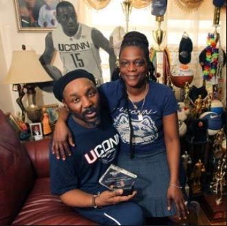 Kemba Walker with Parent/s}}