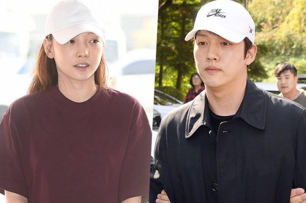 Go Hara and her ex-boyfriend, Choi Jong Bum. | Source: soompi.com