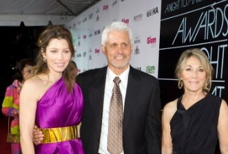 Jessica Biel with Parent/s}}