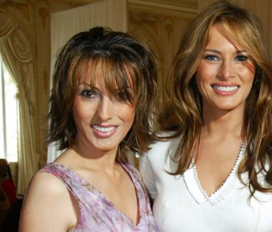 Melania Trump with Sibling/s}}