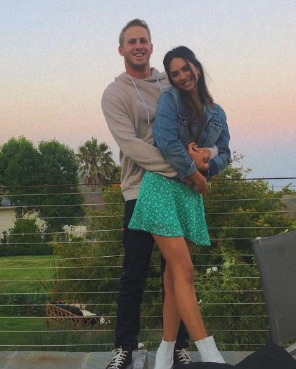 Christen Harper with her boyfriend, Jared Goff. | Source: Instagram.com