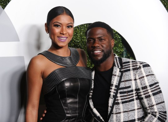 Kevin Hart with his wife | Source: metro.com
