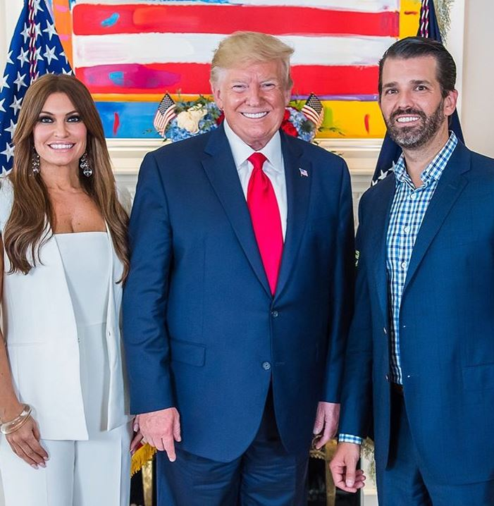 Kimberly Guilfoyle with her boyfriend & his father. | Source: Instagram.com