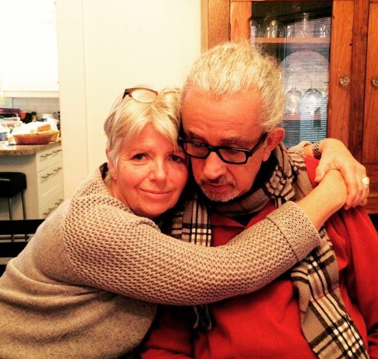 Nick Cordero with Parent/s}}