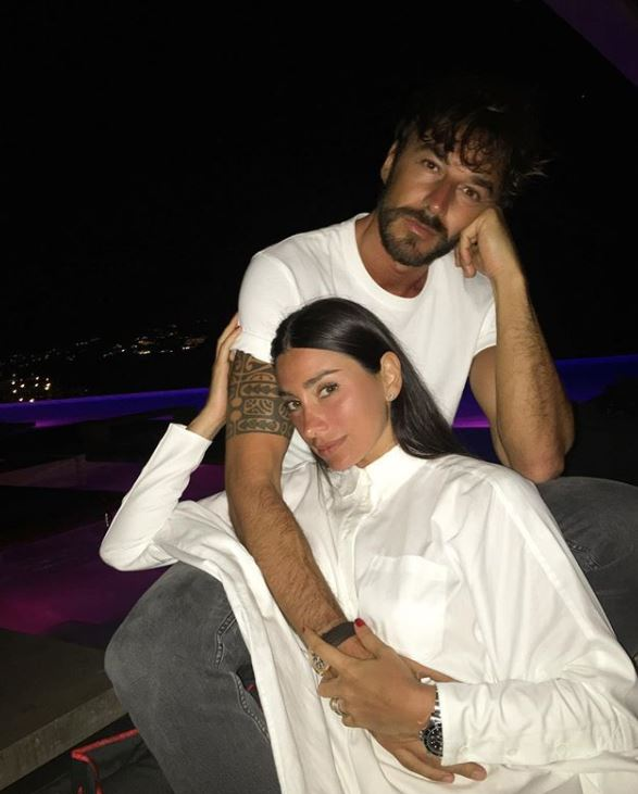 Giorgia Gabriele with her boyfriend, Andrea Grilli. | Source: Instagram.com